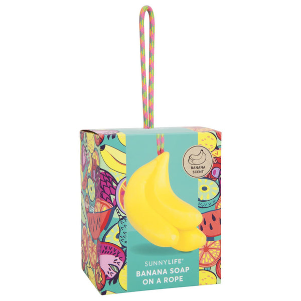 SUNNYLIFE Banana soap on a rope