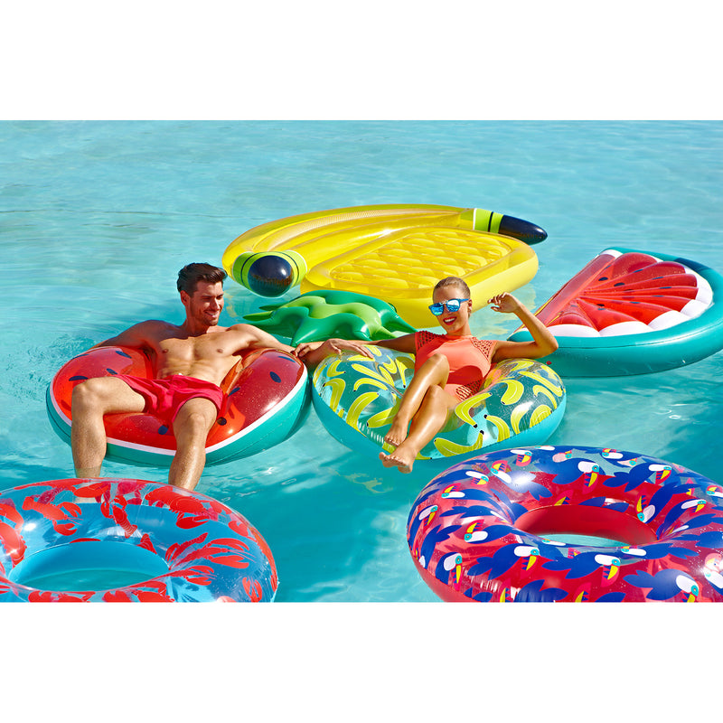 SUNNYLIFE Pool Ring Toucan