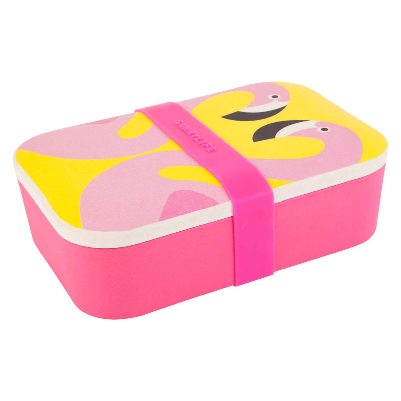SUNNYLIFE Eco Lunch Box Flamingo