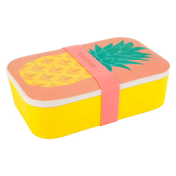SUNNYLIFE Eco Lunch Box Pineapple