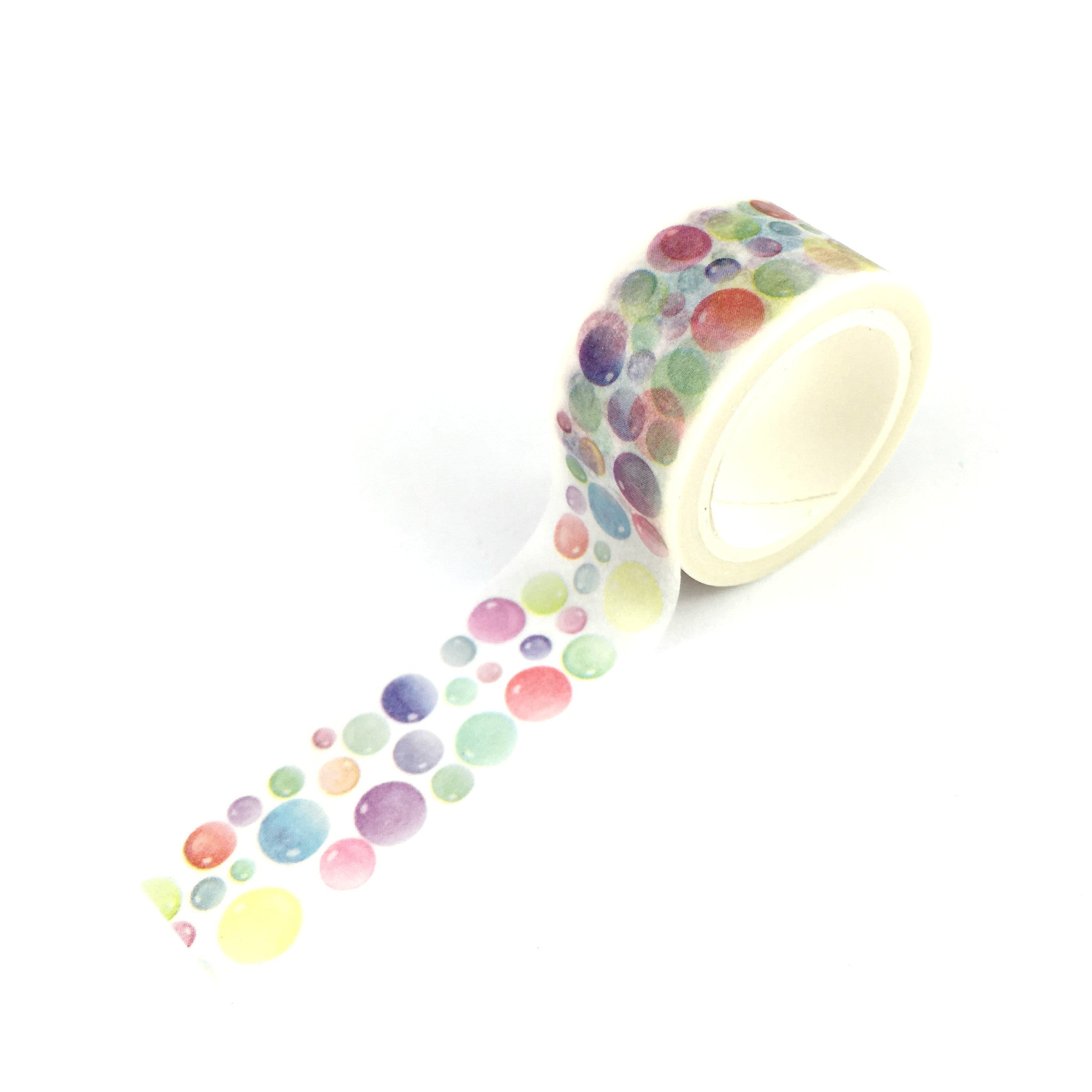 Washi Tape- Watercolour bubbles