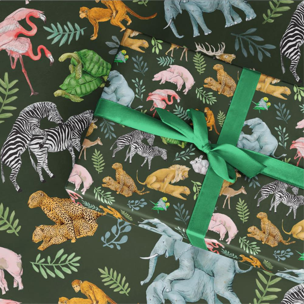 LaLaLand Wild for you Wrapping Paper