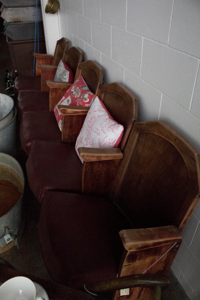 1940's Cinema Seats