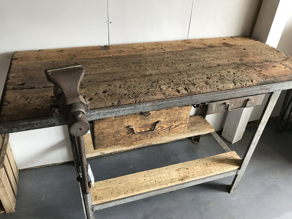 Industrial Carpentry Workbench --SOLD--