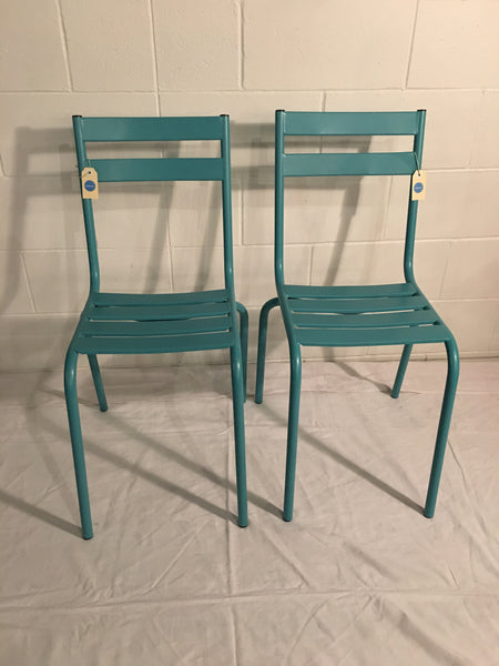 Cafe Chair Blue Green