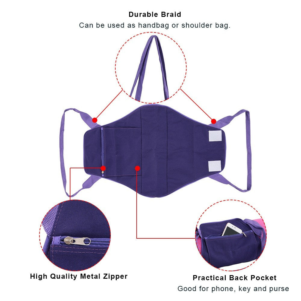 Multi-Functional Yoga Mat Carrier (With pockets)