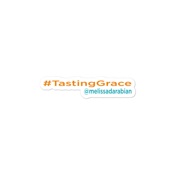 Tasting Grace Stickers