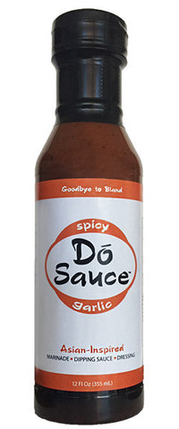 D) Dó Sauce – The Original Spicy Garlic Sauce - 12 oz. bottle