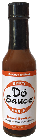 A) Dó Sauce – The Original Spice Garlic Sauce - 5 oz. bottle