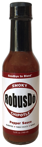 B) RobusDó - Smoky Chipotle Pepper Sauce - 5 oz. bottle