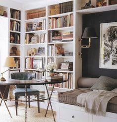 reading room library home ideas