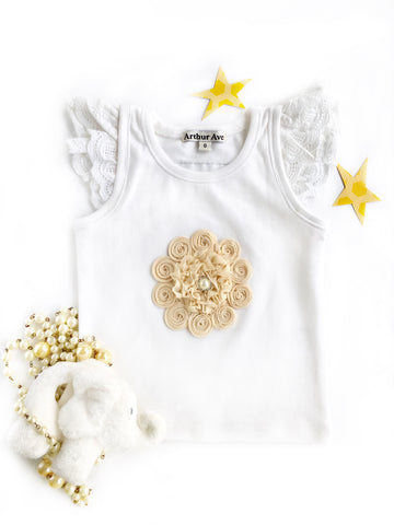 Flower Diamond Top