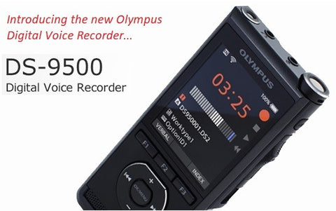 The all new DS-9500 from Olympus Australia