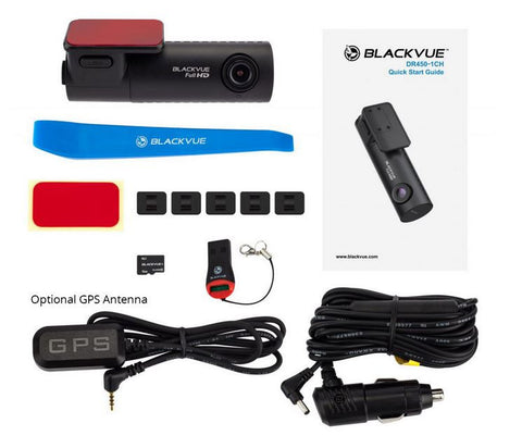 Blackvue DR450-1CH - Whats In The Box?