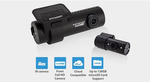 Blackvue DR650S-2CH-IR Dual Camera Dash Camera With IR Illumination