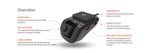 Dashmate DSH-932 Overview Of Dash Camera Features