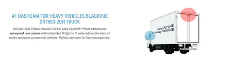 Blackvue DR750S-2CH Truck Dash Cam Detailed Specifications 1