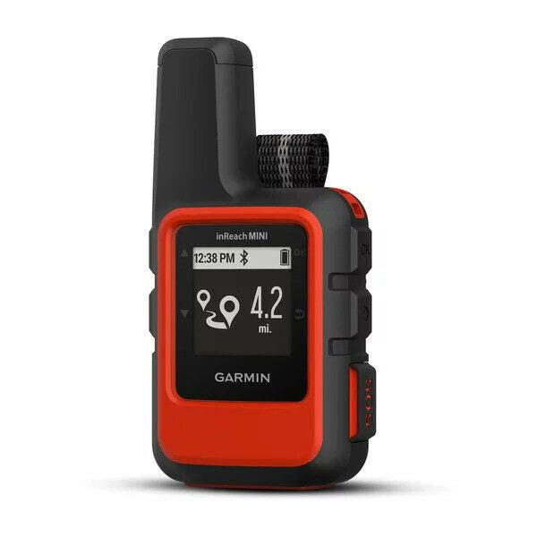 Garmin inReach Mini GPS Satellite Communicator & Tracker - Orange-Garmin-Linelink Online