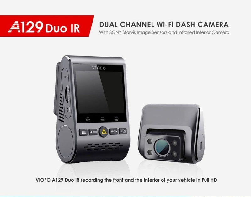 Viofo A129 Duo IR Dual Lens Dual Channel Dash Cam With GPS-Viofo-Linelink Online