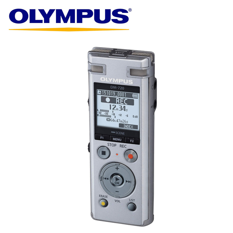 Olympus DM-720 High Performance Business Audio Recorder-Olympus-Linelink Online
