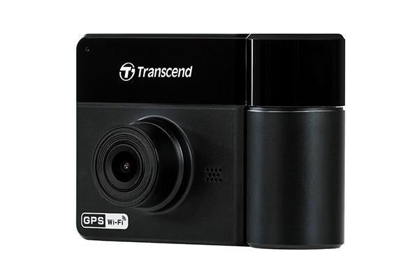 Transcend DrivePro 550 Dual Channel Rideshare Dash Cam With 64Gb-Transcend-Linelink Online