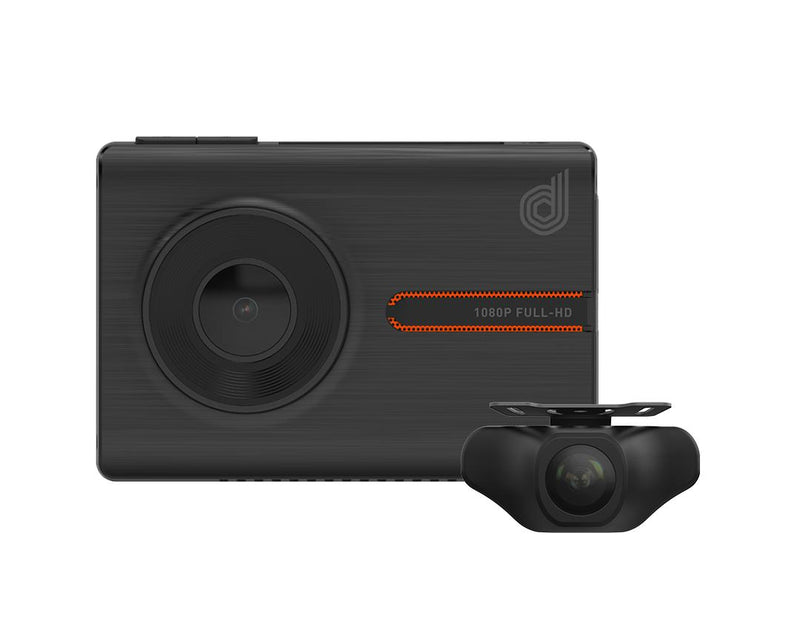 Dashmate DSH-1052 1080P FHD Dual Channel Dash Cam With WiFi & GPS-Dashmate-Linelink Online