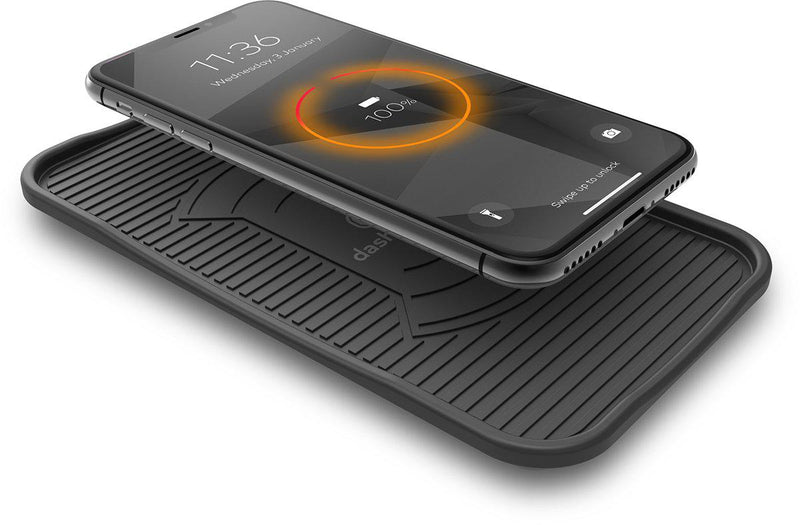 Dashmate DSH-Q50 Qi Wireless Silicone Charging Mat-Dashmate-Linelink Online