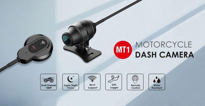 Viofo MT1 1080P Dual Channel Motorcycle Dash Cam-Viofo-Linelink Online