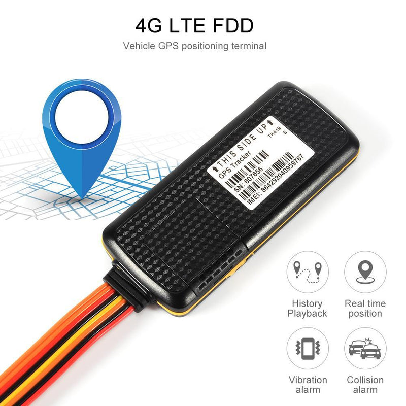 Tracker One 4G TK-419B GPS Vehicle Tracker With Backup Battery