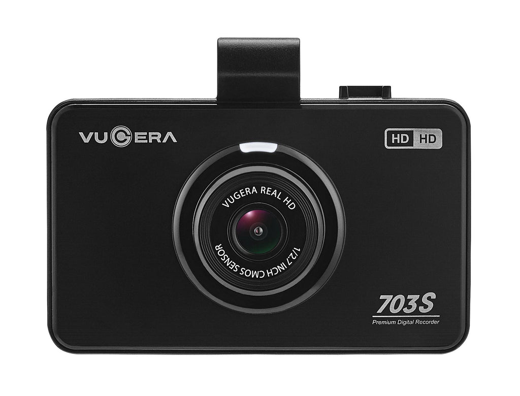 "Vugera VG-703S 2CH Dual Camera HD Dash Cam 32Gb With 3.5"" LCD Touch Screen-Vugera-Linelink Online"