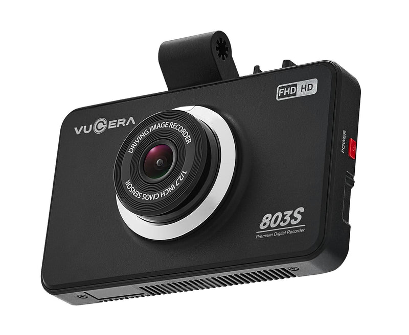 "Vugera VG-803S Front Camera FHD Dash Cam 32Gb With 3.5"" LCD Touch Screen-Vugera-Linelink Online"