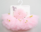 Rose Flower Tutu Set