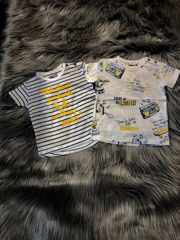 Graphic Twin T-Shirt Set