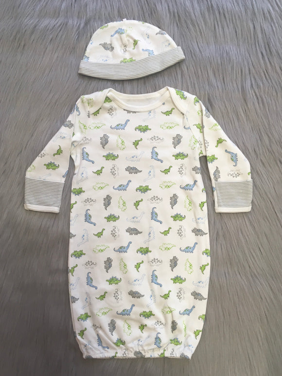 Dinosaur Gown Set