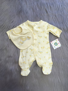 Ducks Footie and Bib Set