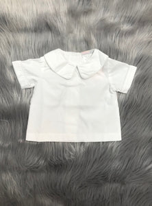 White Piped Shirts