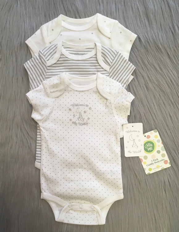 Welcome to the World Onesie Set