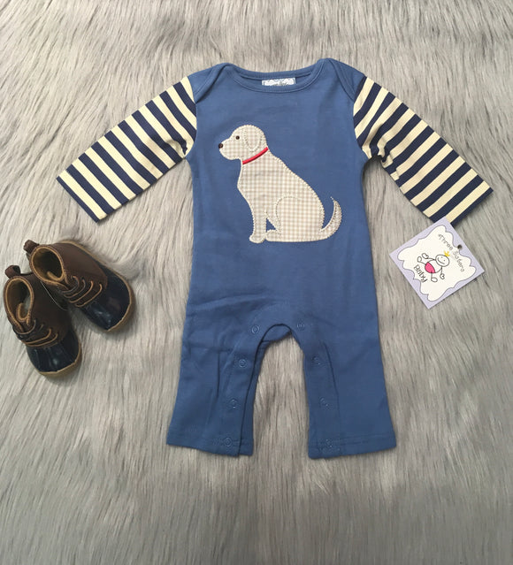Puppy Applique Romper