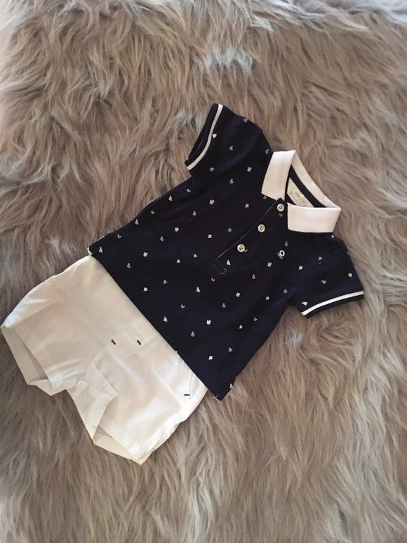 Shorts and Polo Set