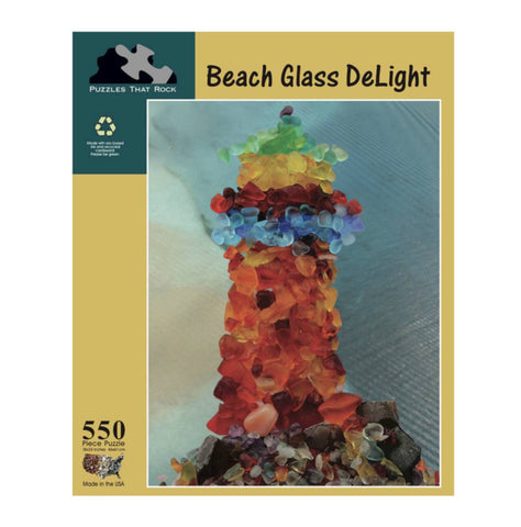 Beach Glass Delight Jigsaw Puzzle