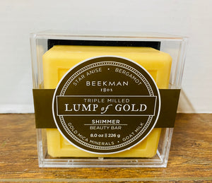 Beekman 1802 Lump of Gold Goat Milk Soap 8oz