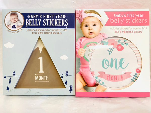 Baby's First Year Belly Stickers