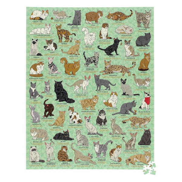 Ridley's Cat Lover's 1000 Piece Jigsaw Puzzle