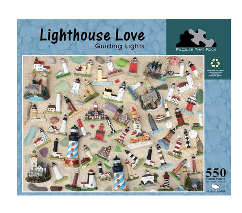 Lighthouse Love Jigsaw Puzzle 550 Piece