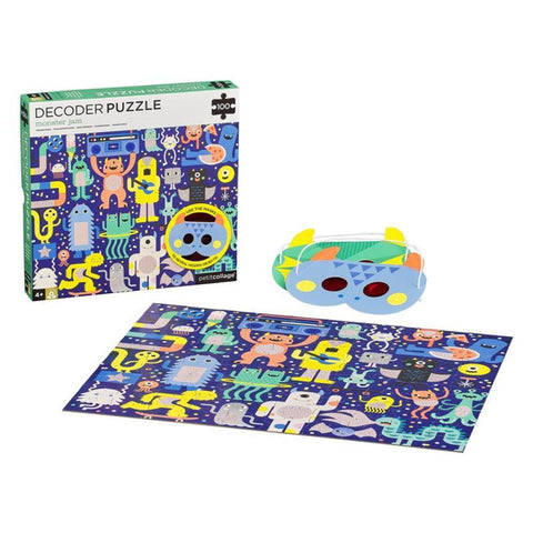 Monster Jam 100 Piece Decoder Puzzle