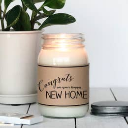 Congrats New Home | Chocolate Chip Cookie Scented Candle