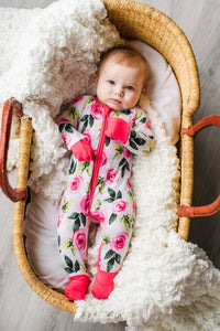 Bamboo Roses Little Sleepies Collection