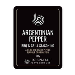 Backpalate Flavour House Argentinian Pepper BBQ & Grill Seasoning