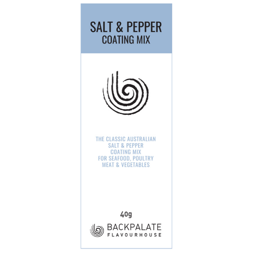 Salt and Pepper Coating Mix