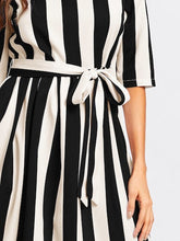 Carol Striped dress